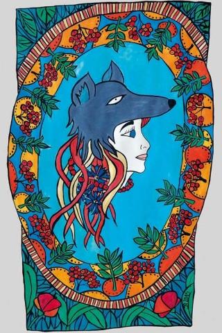 Wolf woman / Wolfsfrau / Kobieta wilk / La Loba