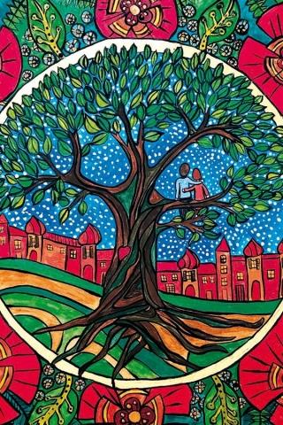 Tree of life / Lebensbaum / Drzewo życia / Árbol de la vida