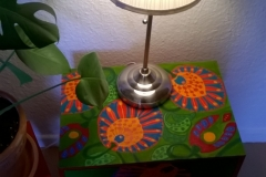 Nightstand with Plant